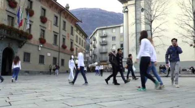 "Flashmob ""Say NO TO VIOLENCE against women"" (Sondrio, Italy)"