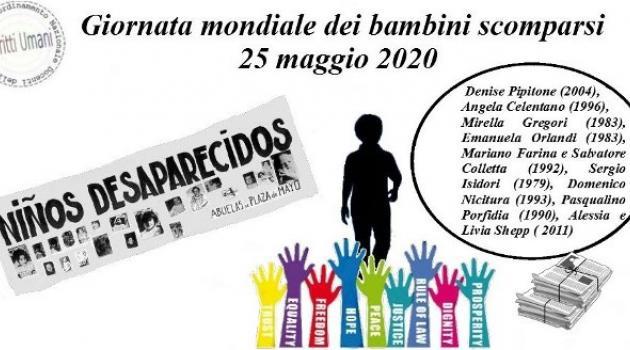 Giornata internazionale dei bambini scomparsi, dal 1979 ogni anno