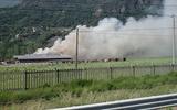 A fuoco maneggio di Talamona