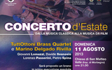 """""""Tuttottoni Brass Quartet e Marini Del Gado Rivilla"""" a S. Matteo di Valle"""