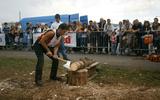Boscaioli in gara per il titolo a Valdidentro